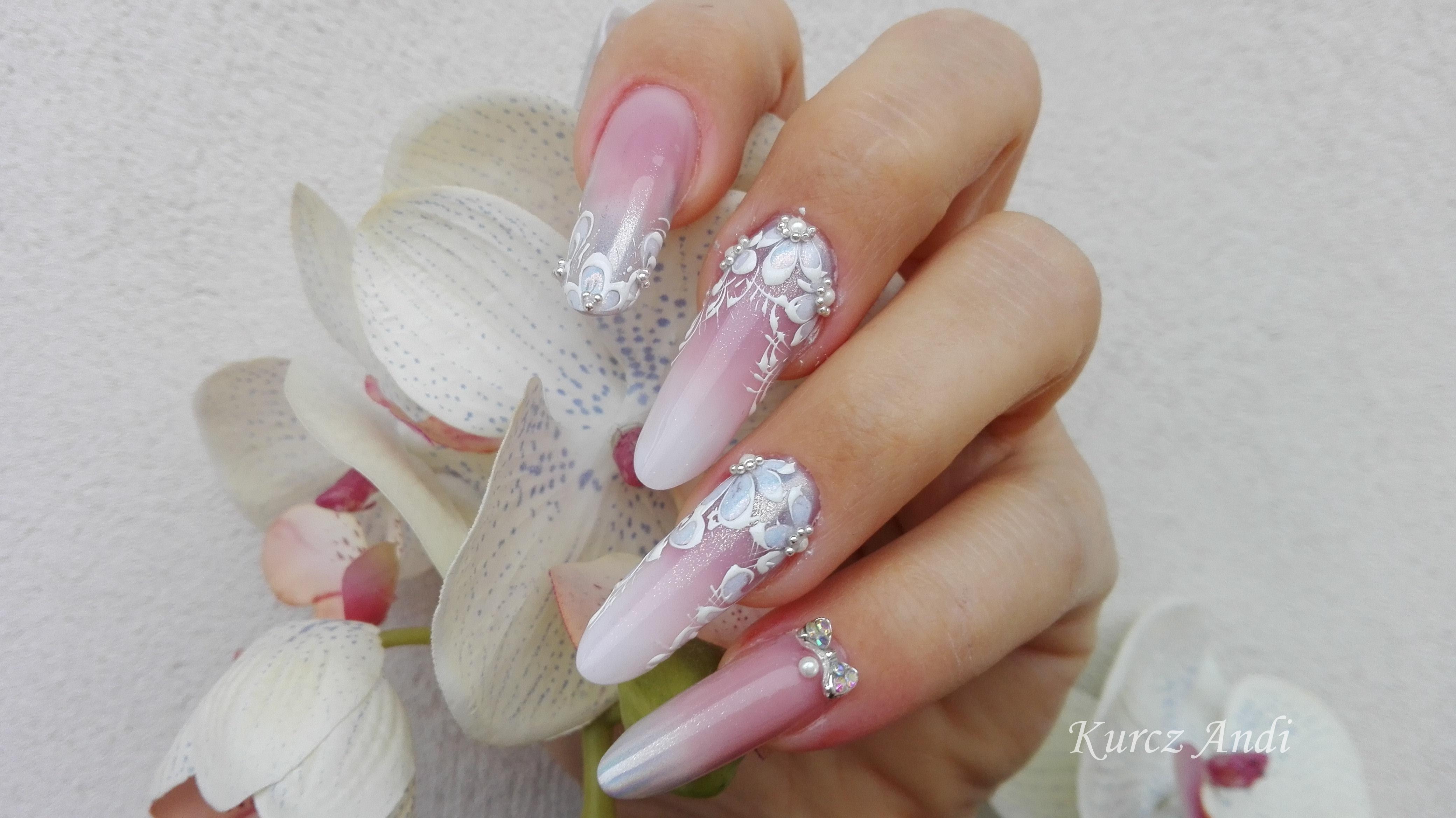 Babyboomer Technik Inkl Hochzeit Design Creative Nails