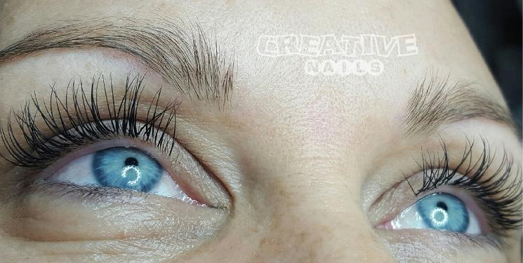 Wimpernverlängerung Weiterbildungskurs bei Creative Nails