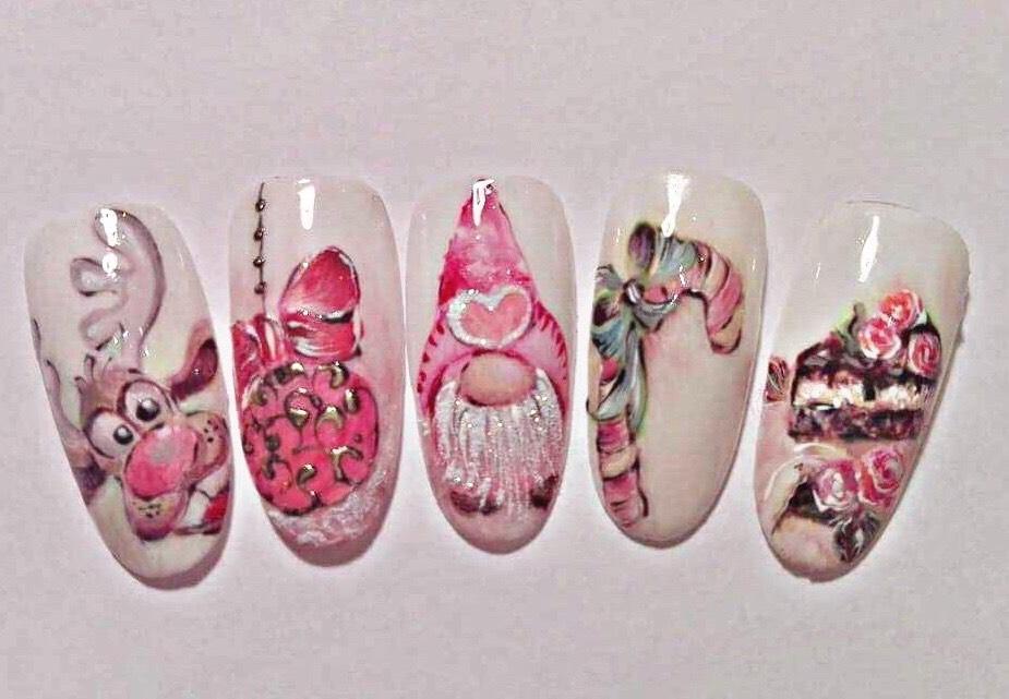Xmas Nail Art Kurs mit Andrea Kurcz bei Creative Nails