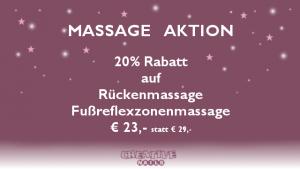 Massage Aktion bei Creative Style