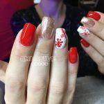 Weihnachtsmuster von Creative Nails