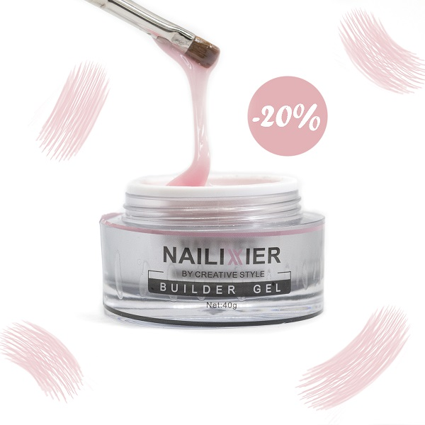 20% Rabatt auf Nailixier Peach Light