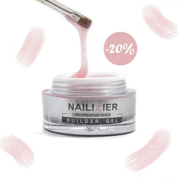 20% Rabatt auf Nailixier Peach Light